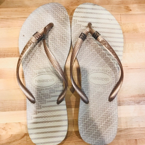 Havaianas Shoes | Havaiana Gold And